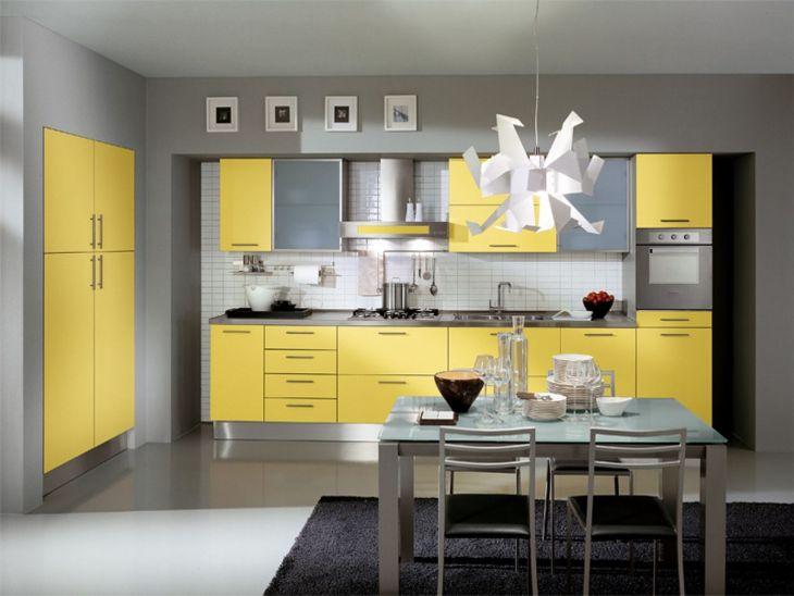 Wonderful Gray Kitchen Design