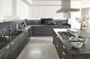 Gray Kitchen Ideas 29