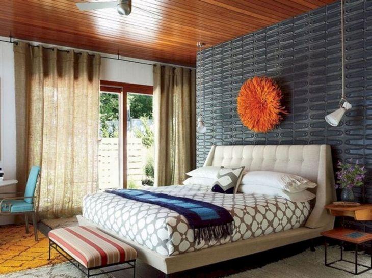 Modern Mid Century Bedroom Decor Ideas 8