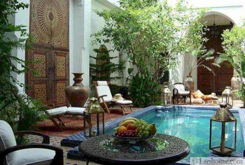 Moroccan Balcony Design Ideas 12
