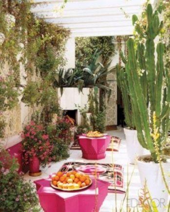 Moroccan Balcony Design Ideas 24