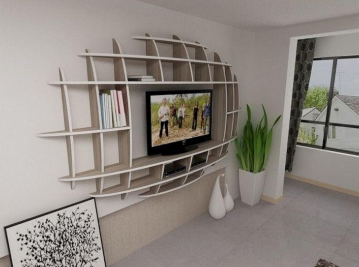 Top 22 Simple Living Room Shelves Ideas Decoredo