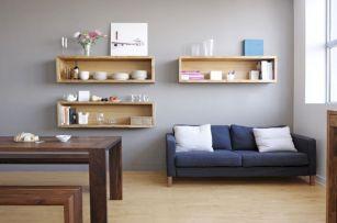 Simple Living Shelving Ideas 22