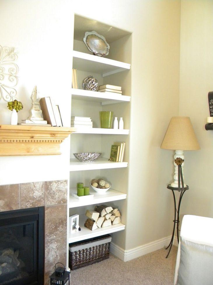 Top 30 Simple Living Room Shelves Ideas – DECOREDO