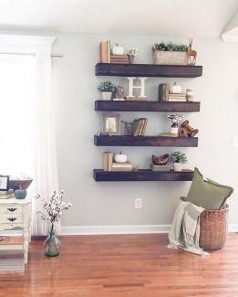 Simple Living Shelving Ideas 29