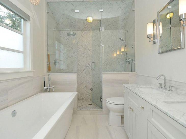 Small Master Bathroom Design 14