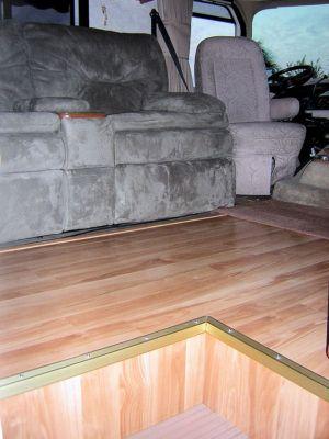 Wooden Flooring Ideas for RV 119