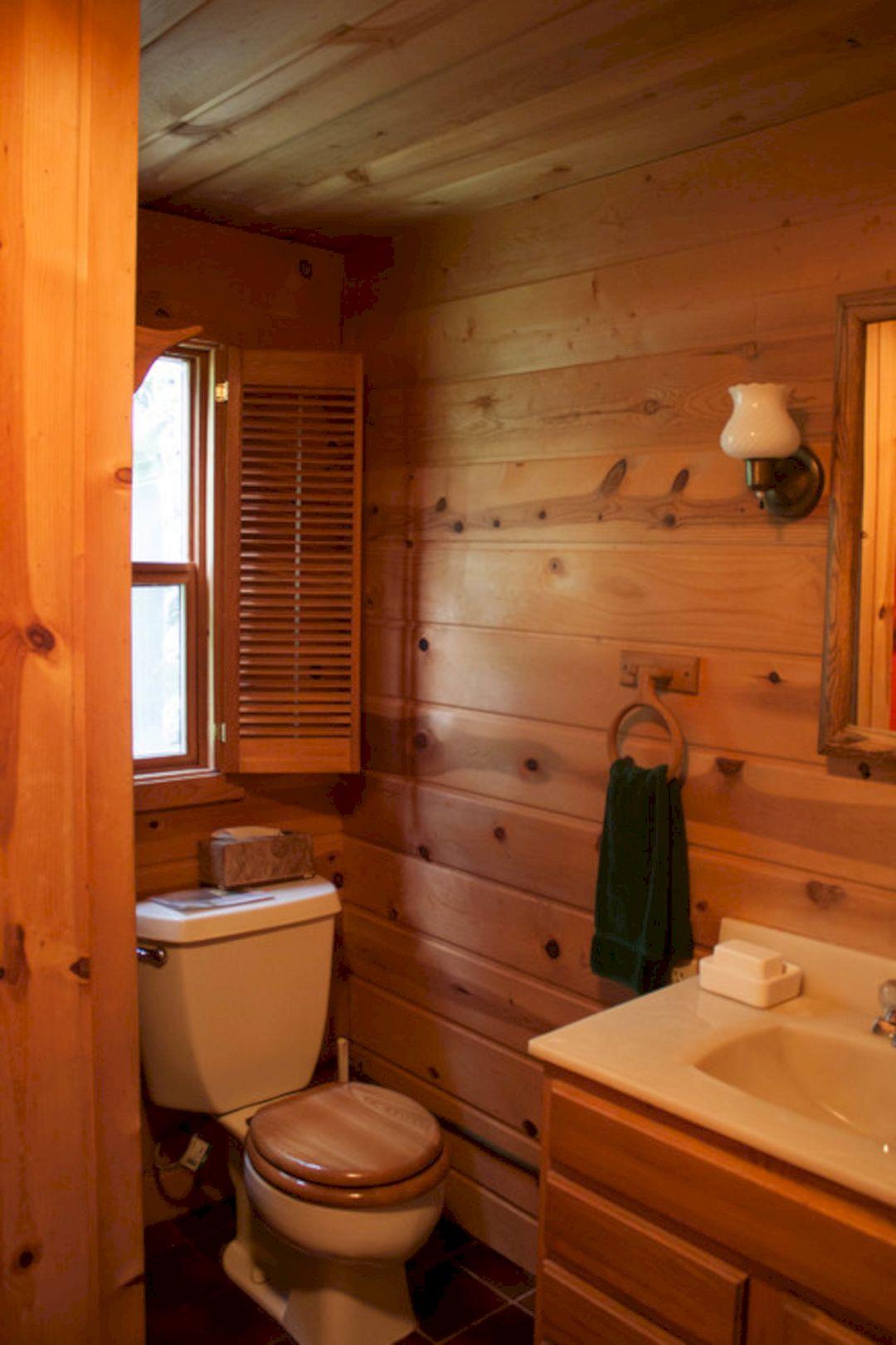 Cabin Style Bathrooms Collection 12 Decoredo