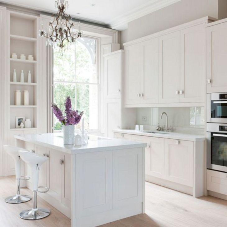 Classic White Kitchen Cabinets 16