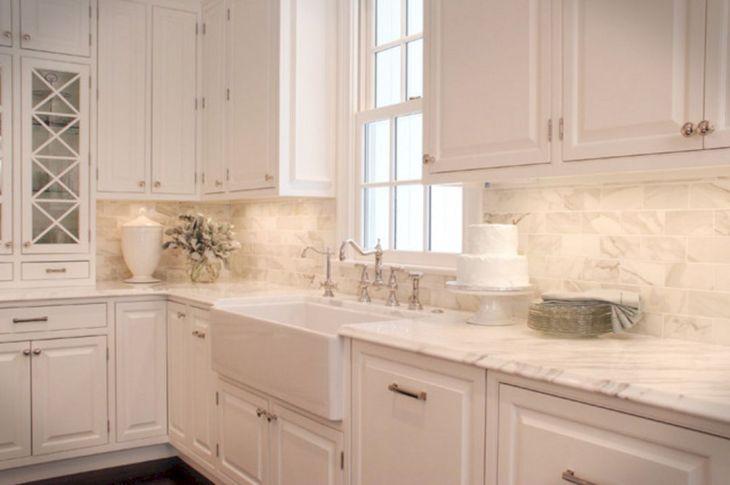 Classic White Kitchen Cabinets 2