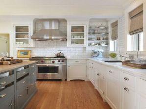 Classic White Kitchen Cabinets 7