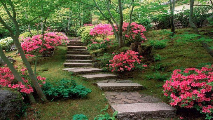 Japanese Flower Gardens Ideas 12