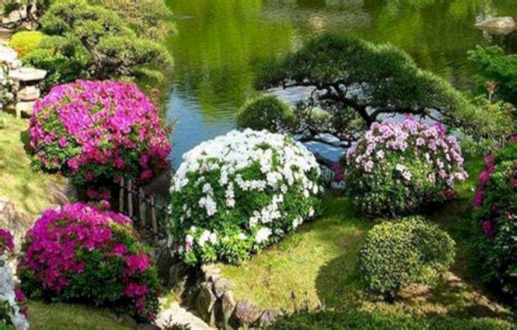 Japanese Flower Gardens Ideas 3