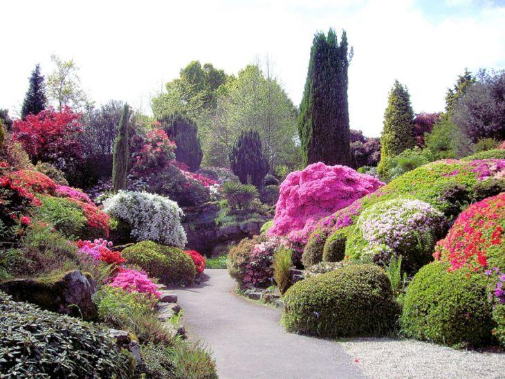 Japanese Flower Gardens Ideas 7