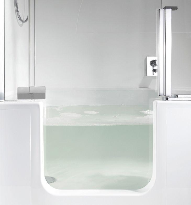 Modern Bath Shower Combination 11