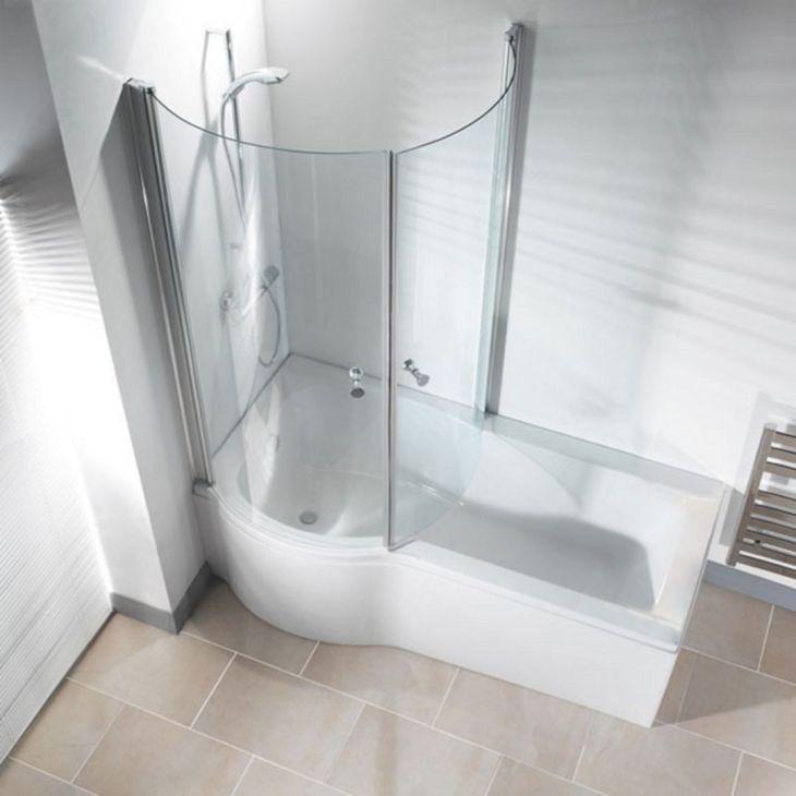 Modern Bath Shower Combination 12