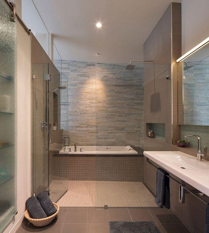 Modern Bath Shower Combination 16