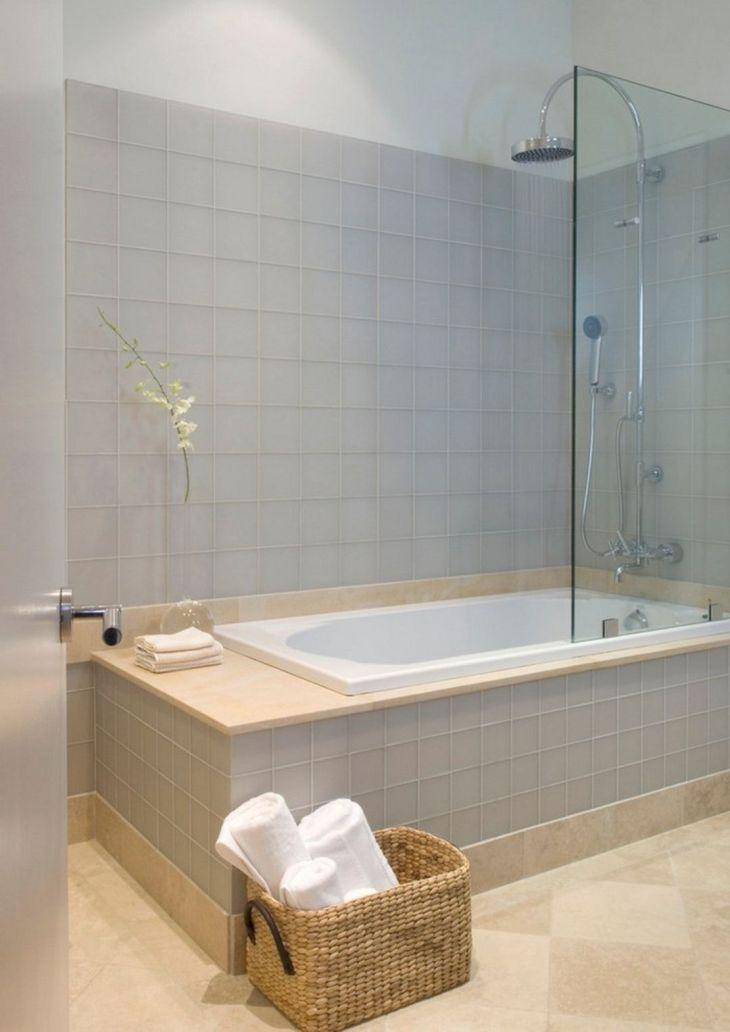Modern Bath Shower Combination 2