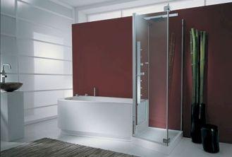 Modern Bath Shower Combination 21