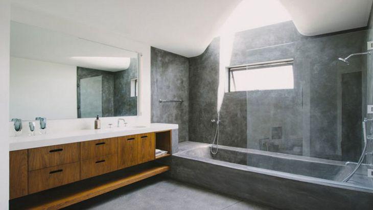 Modern Bath Shower Combination 23