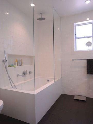 Modern Bath Shower Combination 27
