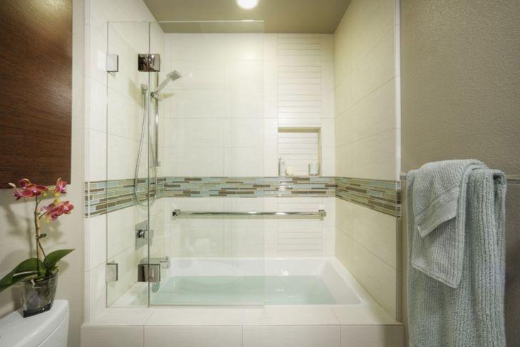 Modern Bath Shower Combination 4