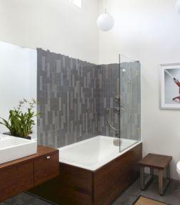 Modern Bath Shower Combination 6