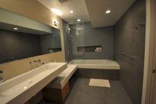 Modern Bath Shower Combination 8