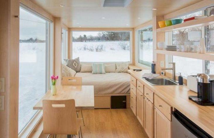 Modern Tiny House Interior 22