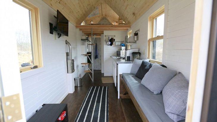 Modern Tiny House Interior 6