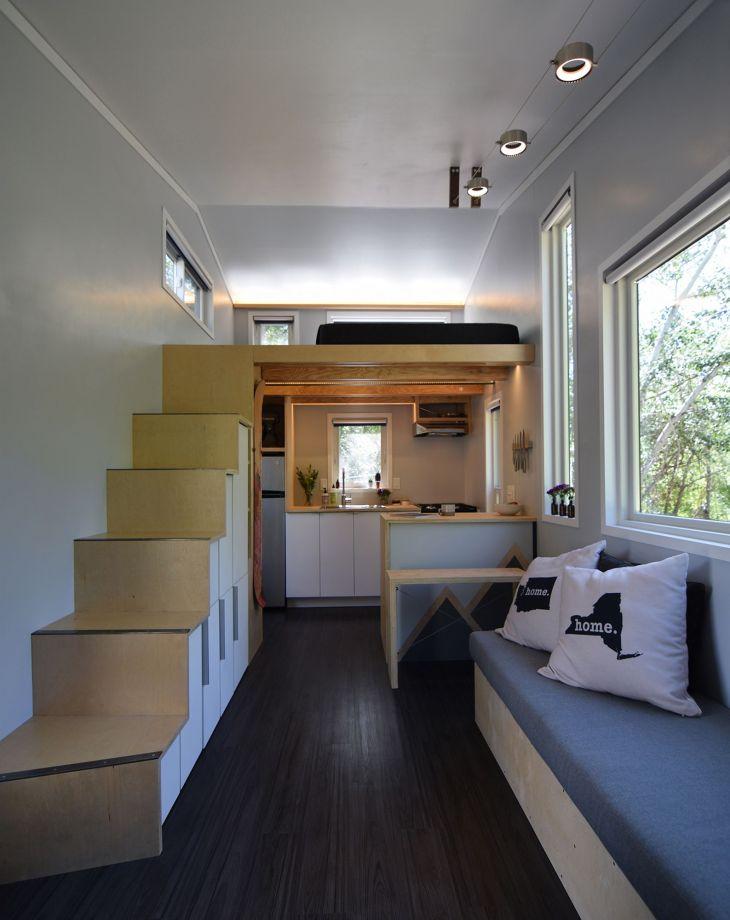 Modern Tiny House Interior 8