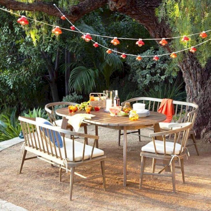 Outdoor Dining in Your Garden 116