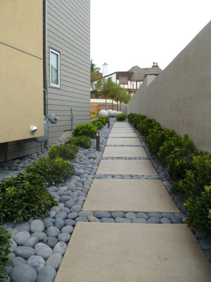 DIY Side Home Landscaping Design