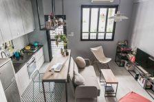Small One Room Apartment Interior 1