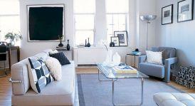 Small One Room Apartment Interior 10