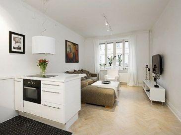 Small One Room Apartment Interior 11