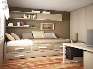 Small One Room Apartment Interior 13