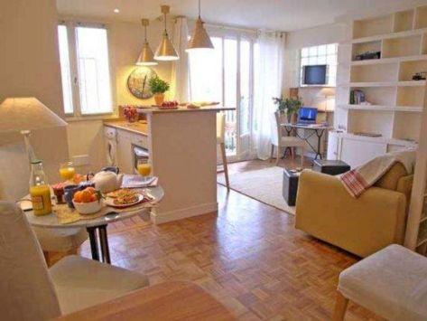 Small One Room Apartment Interior 18