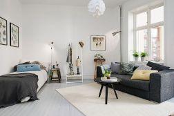 Small One Room Apartment Interior 23
