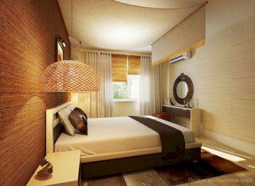 Small One Room Apartment Interior 27