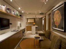 Small One Room Apartment Interior 3