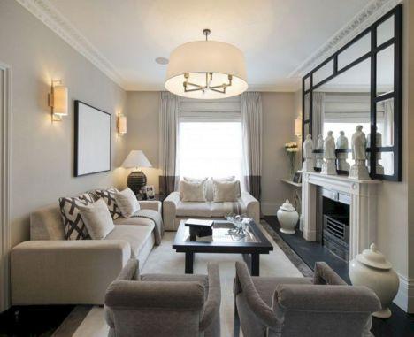 Small Rectangular Living Room Furniture 19