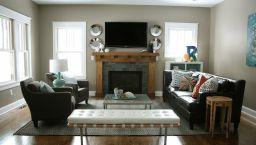 Small Rectangular Living Room Furniture 4