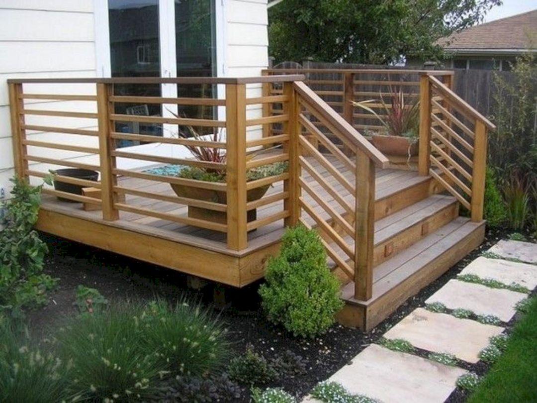 Small Wooden Deck Remodel Ideas 126 Decoredo