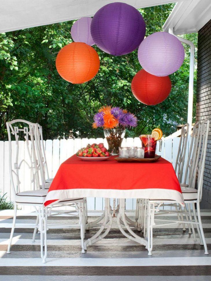 Summer Outdoor Decorating Ideas 28