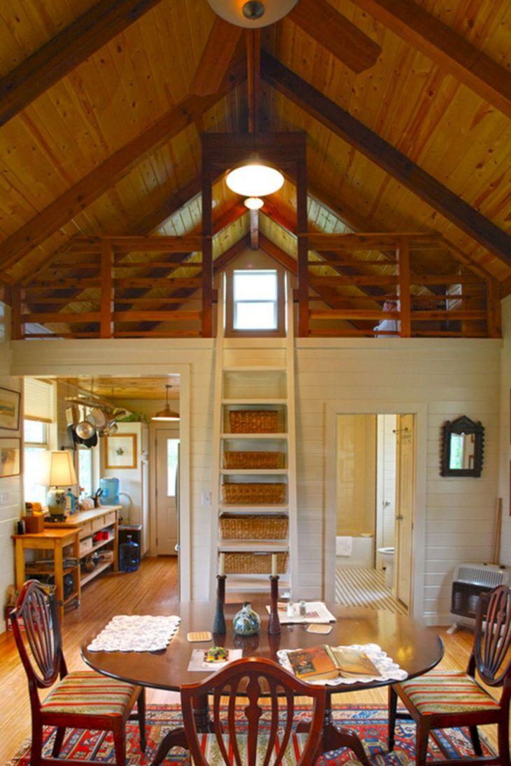 Tiny Cottage House Interiors 14