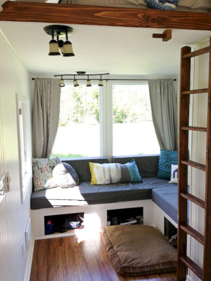 Tiny Houses Living Room Design 226