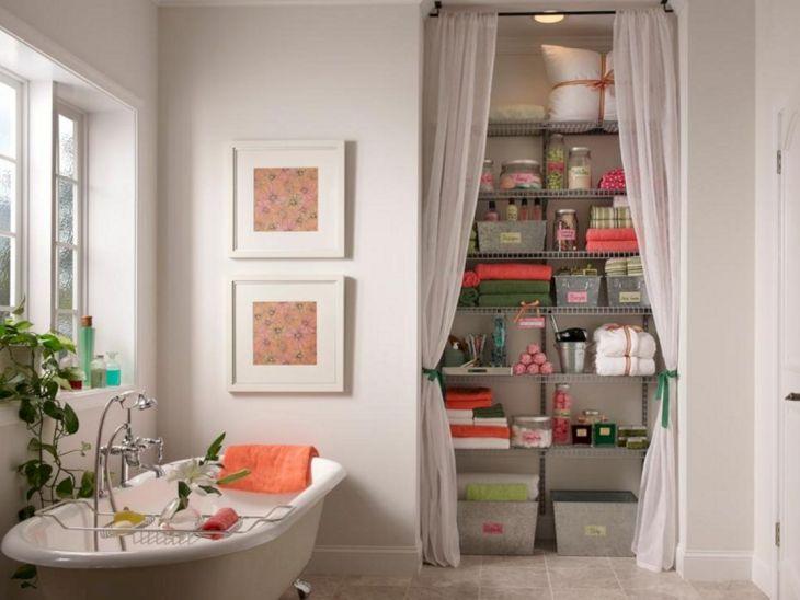 Creative Shelving Ideas for Small Bathrooms 13