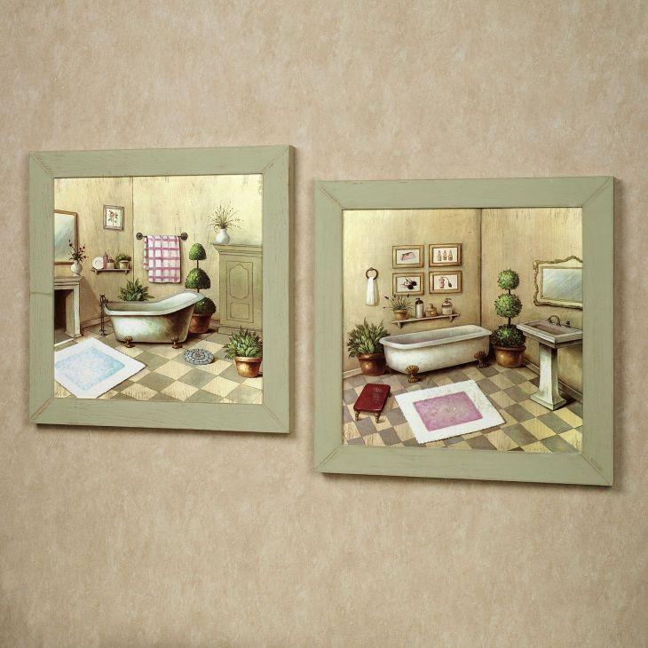 Elegant Bathroom Wall Decor 1