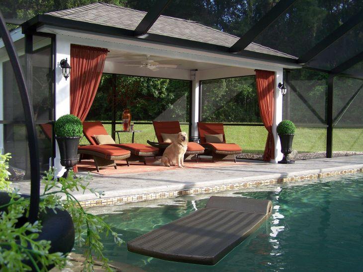 Screened Pool Patio Ideas 11